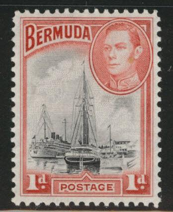 BERMUDA Scott 118 MNH** from 1936-40 set