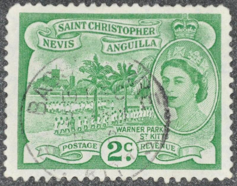 DYNAMITE Stamps: St. Kitts-Nevis Scott #122 - USED