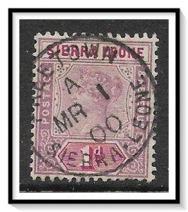 Sierra Leone #35 Queen Victoria Used