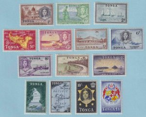 TONGA 100 - 113  MINT HINGED OG * NO FAULTS EXTRA FINE! - Y328