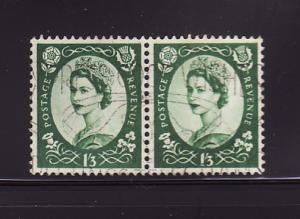 Great Britain 332 Pair U Queen Elizabeth II (A)