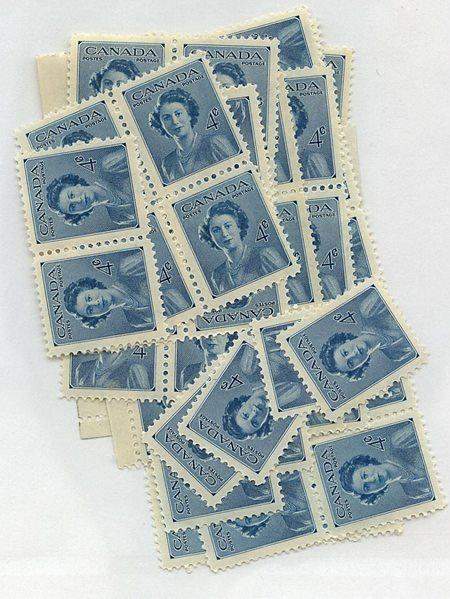 Canada - 1948 Royal Wedding Elizabeth X 100 mint #276