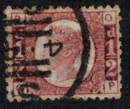 Great Britain #58 Plate 13  F-VF Used CV $22.00  (X5387)