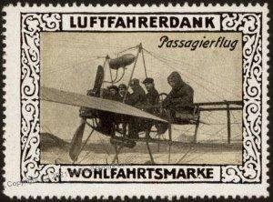Germany Passenger Flight WWI Air Force Memorial Luftfahrerdank Flight MN G102815