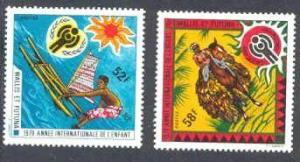 Wallis Futuna Mi.337-38 MNH VF Children year