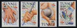 Tuvalu 612-5 MNH Olympic Games, Athletics