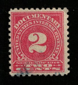 1914 Documentary U.S. Internal Revenue series of 1914, 2c (TS-366)