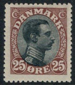 Denmark #107* CV $75.00