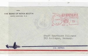 dominica 1968  airmail stamps cover  ref 10149