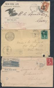 (5) DIFF HOTELS, INSURANCE, SURVEYOR, & ACCOUNTING ADVT COVERS & FRONT BT3775