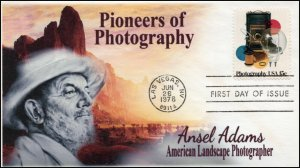 AO-1758, 1978, Photography, Pioneers of Photography, Ansel Adams, Add-on Cachet,