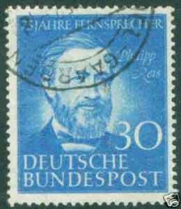 German Deutsche Bundespost Scott 693 used 1952 CV$14.50