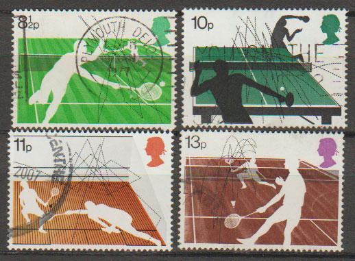 Great Britain SG 1022 - 1025 set Used