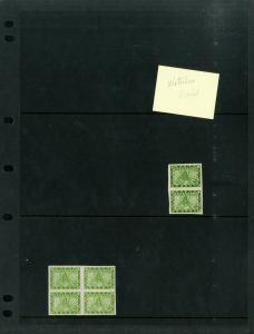 Nepal 1930s Sri Pashupati Stamp Study Collection
