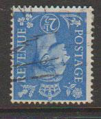 GB George VI  SG 489wi Used wmk inverted