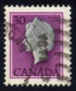 Canada #791 Queen Elizabeth II, used (0.25)