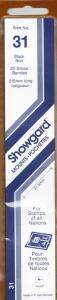 SHOWGARD BLACK MOUNTS 215/31 (22) RETAIL PRICE $9.75