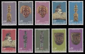 Zaire 836 - 845 MNH