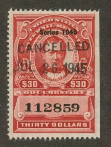 R430 Used VF-XF Handstamp date canc  Documentary