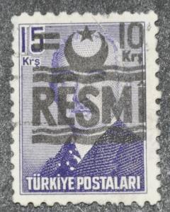 DYNAMITE Stamps: Turkey Scott #O31 - USED