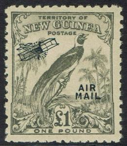 NEW GUINEA 1932 UNDATED AIRMAIL 1 POUND