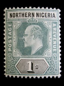 NORTHERN NIGERIA - 25a - MH - CAT VAL $24.00