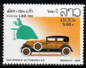 Classic Automobile, 1926 Renault, Laos stamp SC#417 MNH