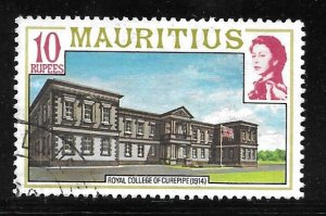 Mauritius 461: R10 Royal College of Curepipe (1914), used, F-VF