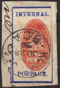British Central Africa 1898 SC 58 Used SCV$ 145.00