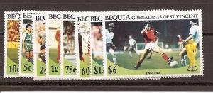 St. Vincent Grenadines - Bequia 218-221,223-225,229 MNH
