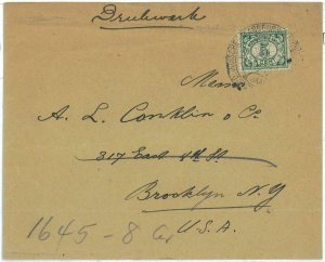93723 - DUTCH INDIES Indonesia - POSTAL HISTORY - Special postmark on COVER 1923