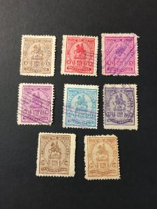 Honduras sc 184-187,189,190,191,191a u