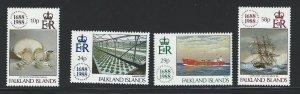 Falkland Islands  MNH sc  481-484
