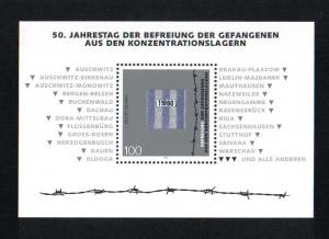 Germany 1995 MNH  Liberation of concentration camps    sheet