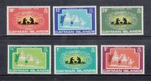 Cayman Islands Scott #277-282 MNH