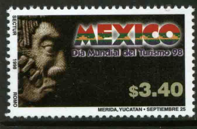 MEXICO 2092, World Tourism Day. MINT, NH. VF. (69)