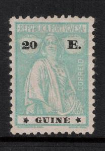 Port Guinea 1925 SC 179M LH CV $100