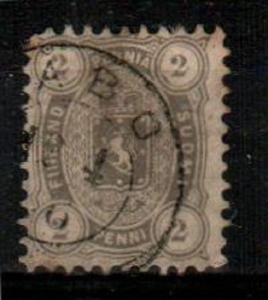 Finland Scott 17 Used (Catalog Value $65.00)