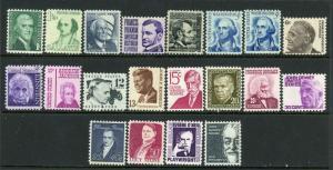 USA 1278-1295 Mint (NH) Complete Set