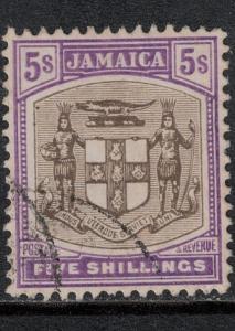Jamaica 1905 SC 45 Used CV $58