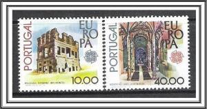 Portugal #1390-1391 Europa MNH
