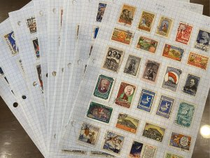Russia 1957-1963 Collection on Pages - Mostly CTO/Used