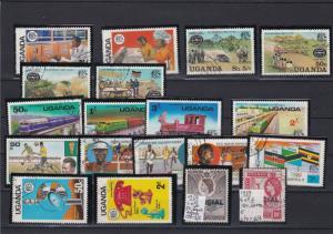Uganda Mixed Subject Stamps Ref 24909