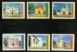 VENEZUELA 957-62 MNH SCV $4.85 BIN $2.50 CHURCHES