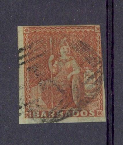 Barbados Scott 4 (3-1/2 margins) Used (Catalog Value $325.00)