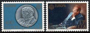 Yugoslavia MNH 1467-8 Europa 1980