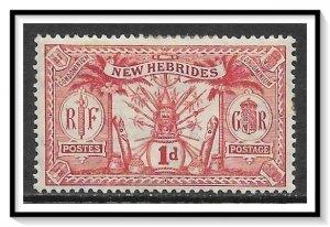 New Hebrides - British #18 Native Idols MH