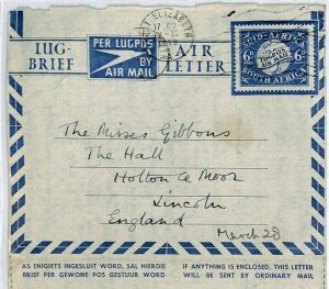 SOUTH AFRICA Cover Port Elizabeth *St Mark's Mission House*Air-Letter 1949 CZ202