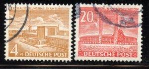 Berlin # 9N101-2, Used. CV $ 5.75