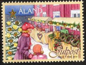 Finland / Aland 2014 Christmas MNH**